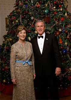 giáng sinh At The White House...The Bush's