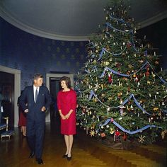Christmas At The White House...The Kennedy's