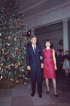 Krismas At The White House....The Kennedy's