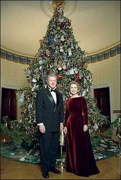 Christmas At The White House...The Klintons
