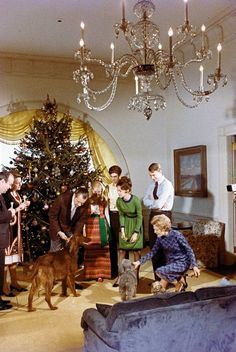 クリスマス At The White House...The Nixon's