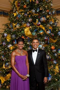 クリスマス At The White House....The Obama's