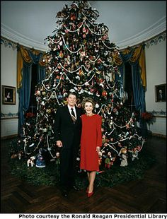 Christmas At The White House ...The Reagans