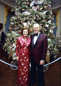 Christmas At White House....The Fords