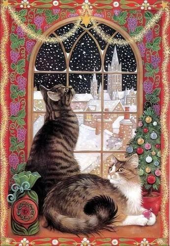 TheCountess fondo de pantalla entitled navidad Kitty's For Sharon 🎄
