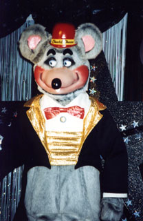 Chuck E. Cheese Later Latex 3-Stage Animatronic (1995-2002)