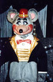 Chuck E. Cheese Later Latex 3-Stage Animatronic (1995-2002) - chuck-e-cheeses photo
