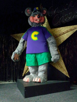 Chuck E. Cheese Plastic 3-Stage Animatronic (1999-Present)