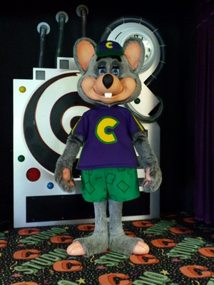 Chuck E. Cheese Studio C/Circles of Light/Galaxy Stage 16 Movement Bot (2003-Present)