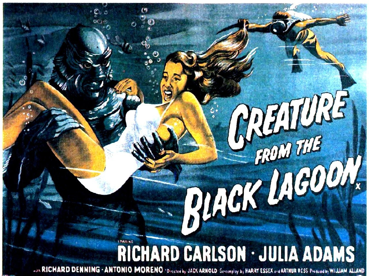 Creature From The Black Lagoon Poster Universal Monsters