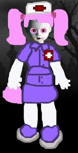 Living Dead Dolls پیپر وال entitled Creepypasta Nurse Joy