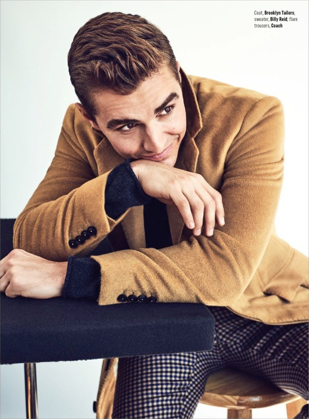 Dave Franco - August Man Photoshoot - 2017