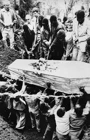 Dian Fossey's Funeral Back In 1985