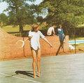 Diana Playing Tennis  - princess-diana photo