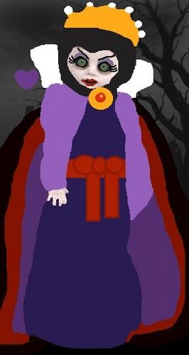 Living Dead mga manika wolpeyper called Disney Evil reyna