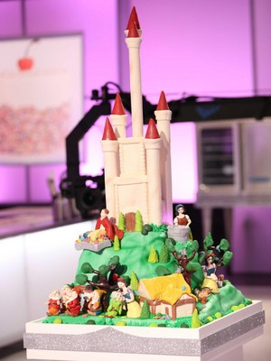 디즈니 Princesses Cake