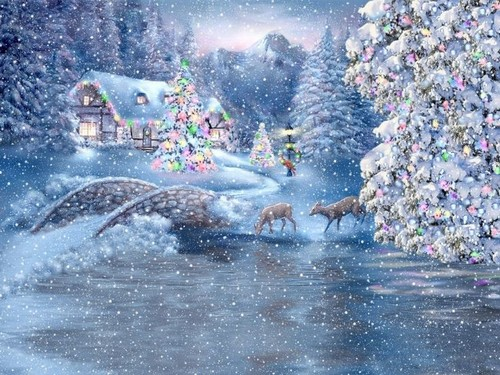 Daydreaming wallpaper entitled Dreamy Winter