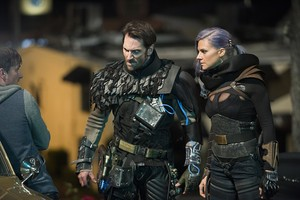 Eliza coupe as Tiger in 'Future Man'