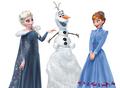 Elsa, Anna and Olaf - elsa-and-anna photo
