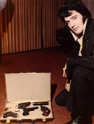 Elvis' Gun Collection