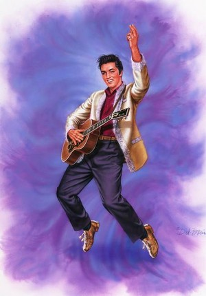 Elvis In Art
