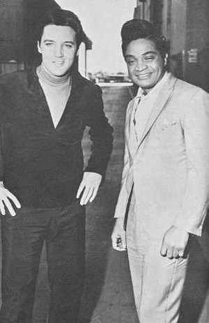 Elvis Presley And Jackie Wison