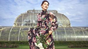 Emilia Clarke at Harper's Bazaar Photoshoot
