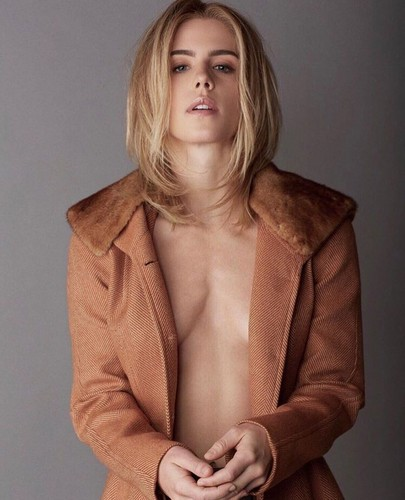 Emily Bett Rickards wallpaper called Emily Bett Rickards for Vulkan Magazine