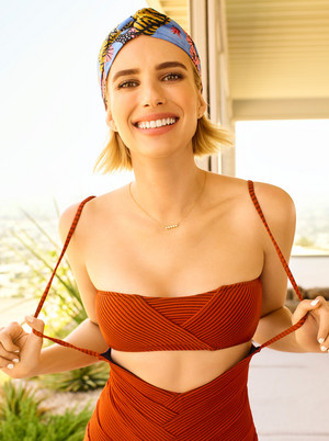 Emma Roberts ~ Shape ~ December 2017