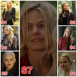 Emma Swan through seasons