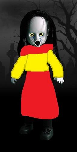 Living Dead mga manika wolpeyper titled Emma