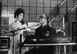 Erica Kane & Stevie Wonder