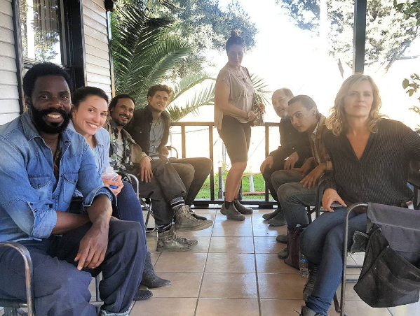 Fear TWD Cast