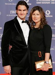 Federer and Mirka