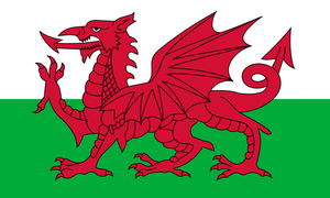 Flag Of Wales (Cymru)