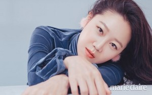 GONG HYO JIN'S HOLIDAY BEAUTY FOR DECEMBER MARIE CLAIRE