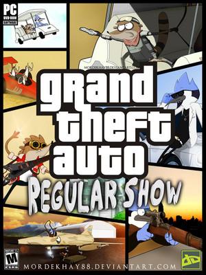 GTA:regular show