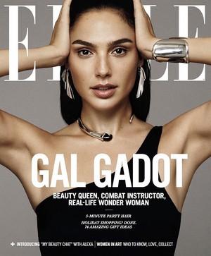 Gal Gadot - Elle Cover - 2017