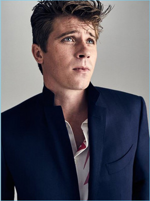 Garrett Hedlund - Mr Porter Photoshoot - 2017