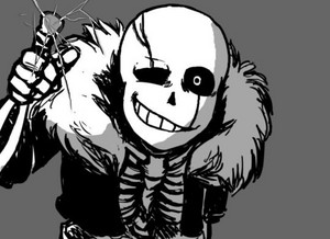 Gaster!Sans Desktop Wallpaper