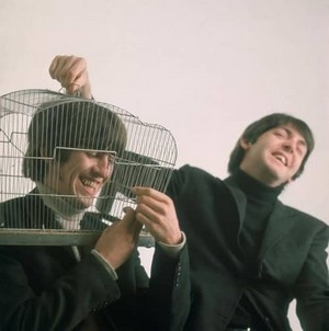 George and Paul being silly