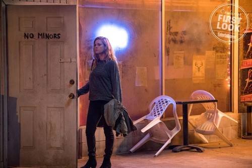 "Book to Screen Adaptations fondo de pantalla titled Gillian Flynn's ""Sharp Objects"" HBO TV Series First Look"
