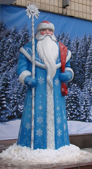 Grandfather Frost In Russia