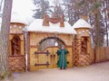 Grandfather Frost's Residence In Siberia, Russia - christmas photo