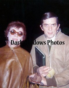 Grayson Hall and Jonathan Frid