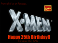 Happy Birthday! - x-men fan art
