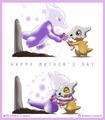 Happy Mother's Day - Cubone and Marowak - pokemon fan art