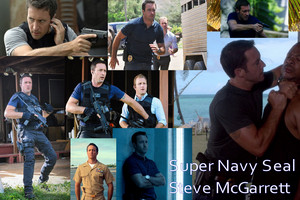 Hawaii Five 0 - Steve McGarrett - Super Navy печать