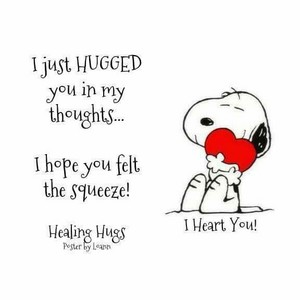 Healing hugs for my dearest friend, Berni 💖