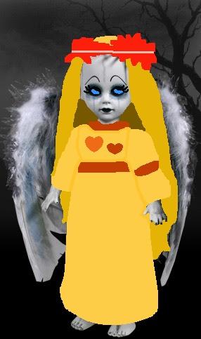Living Dead Dolls پیپر وال titled Hippie Lindsay